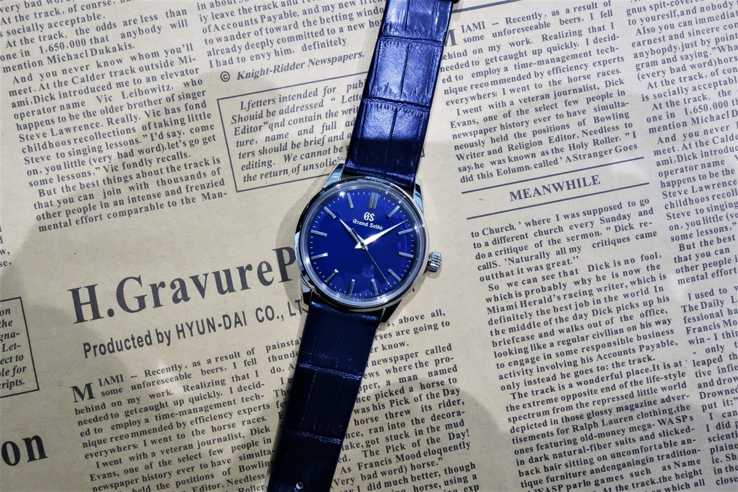 GrandSeiko Elegance Collection マスターショップ限定モデル「SBGX349」